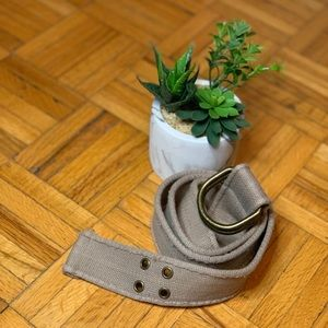 Military Style Loop Canvas Belt Barely Used!